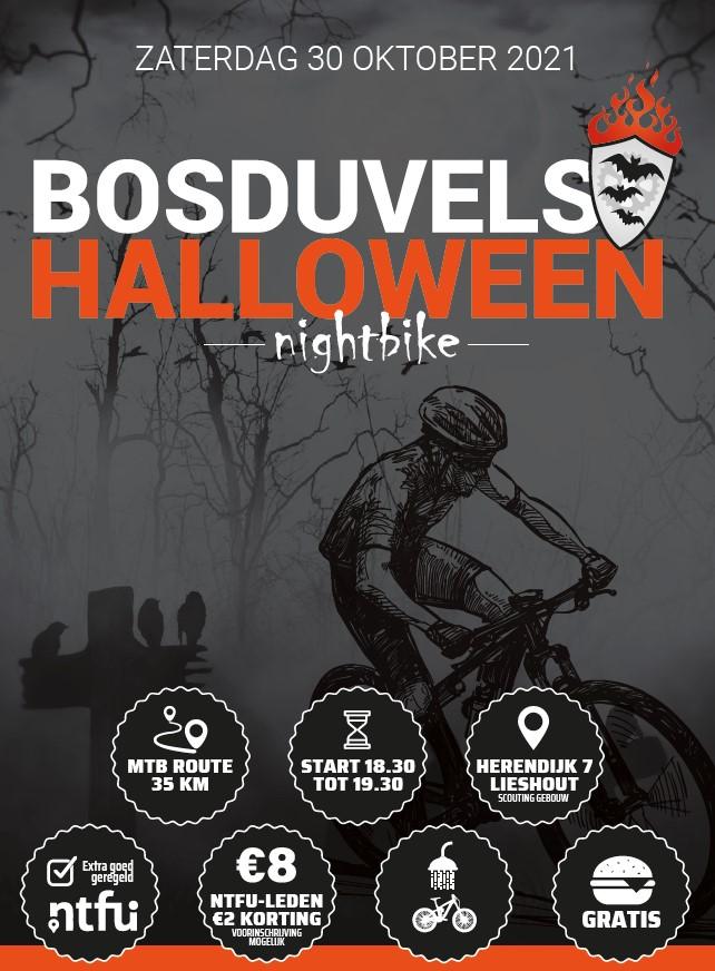 MTB Halloween Nightbike BZET de Bosduvels